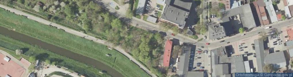 Zdjęcie satelitarne Rusałka ul.