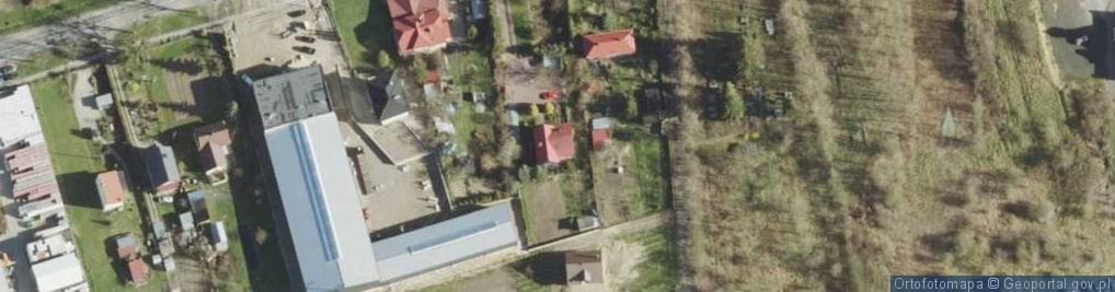 Zdjęcie satelitarne Rudka ul.