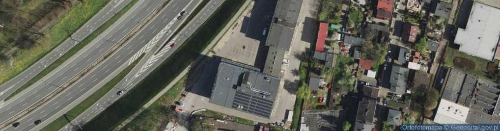 Zdjęcie satelitarne Rudna ul.