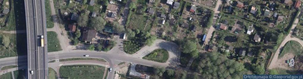 Zdjęcie satelitarne Rudacka ul.