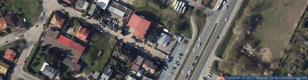 Zdjęcie satelitarne Rusiecka ul.