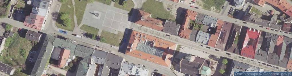 Zdjęcie satelitarne Rwańska ul.