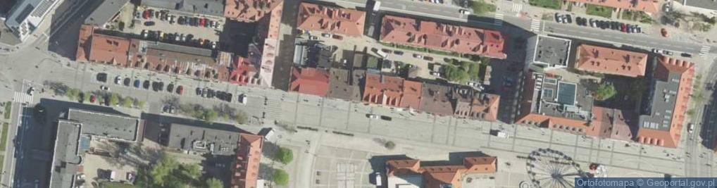Zdjęcie satelitarne Rynek Kościuszki Tadeusza, gen. ul.