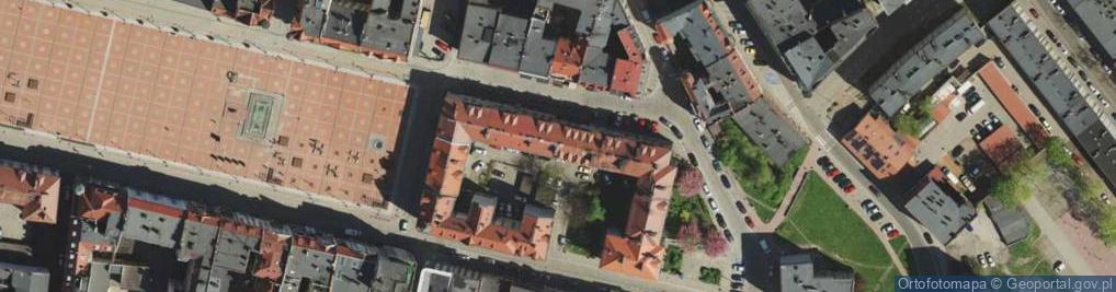 Zdjęcie satelitarne Rycerska ul.