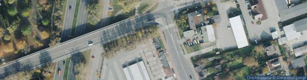 Zdjęcie satelitarne Rynek Narutowicza Gabriela ul.
