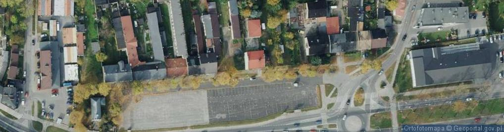 Zdjęcie satelitarne Rynek Wieluński ul.