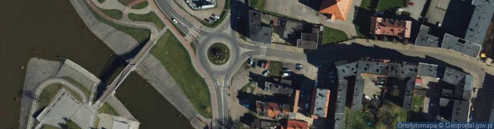Zdjęcie satelitarne Rybacka ul.