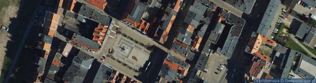 Zdjęcie satelitarne Rynek ul.
