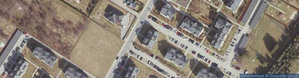 Zdjęcie satelitarne Rymanowska ul.