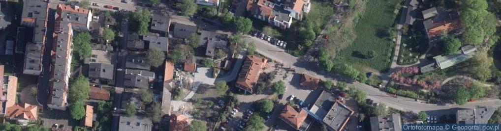 Zdjęcie satelitarne Rybaki ul.