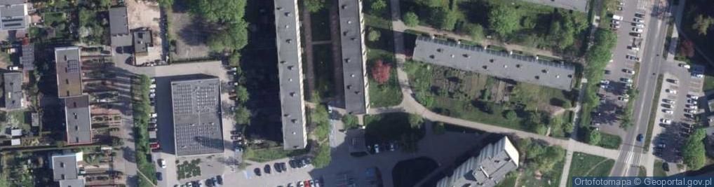 Zdjęcie satelitarne Rydygiera Ludwika ul.