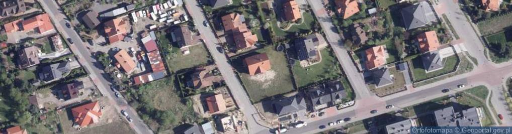 Zdjęcie satelitarne Ryżowa ul.