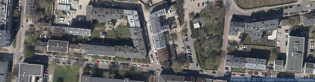 Zdjęcie satelitarne Rybna ul.