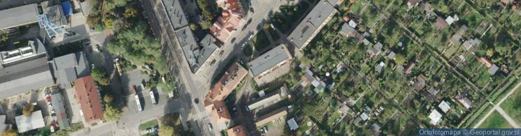 Zdjęcie satelitarne Rymera Józefa ul.