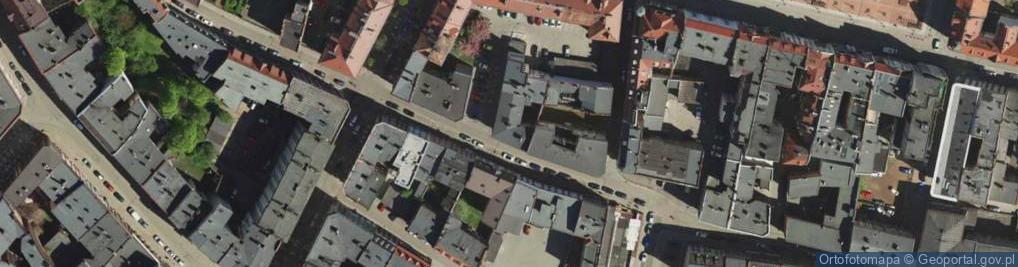 Zdjęcie satelitarne Rzeźnicza ul.