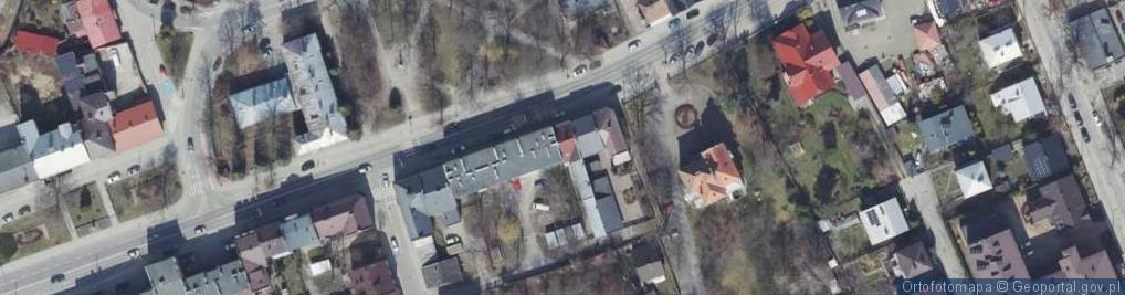 Zdjęcie satelitarne Rzeszowska ul.