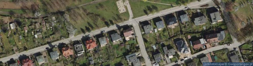 Zdjęcie satelitarne Rzepichy ul.
