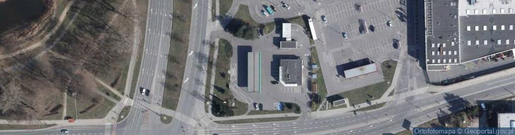 Zdjęcie satelitarne Rzgowska ul.