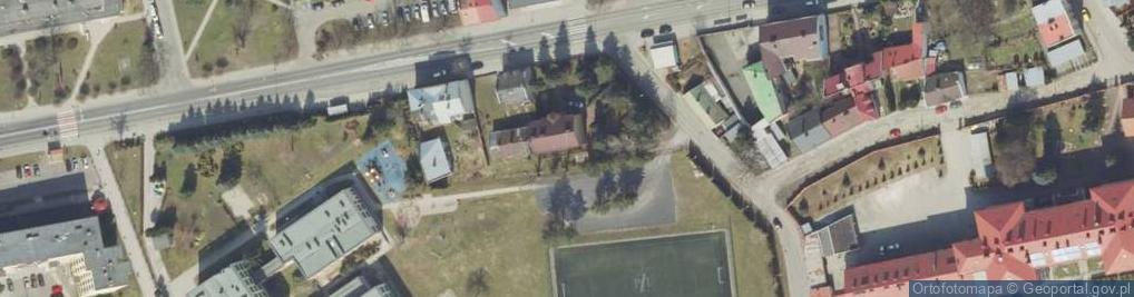 Zdjęcie satelitarne Rzewuskiego Henryka ul.