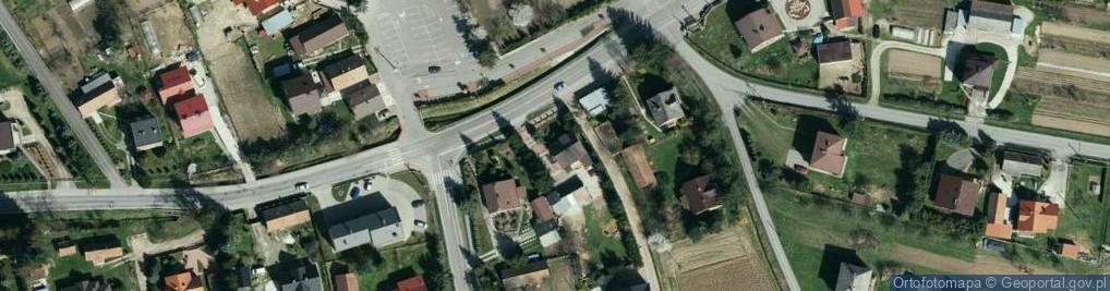 Zdjęcie satelitarne Rzuchowa ul.