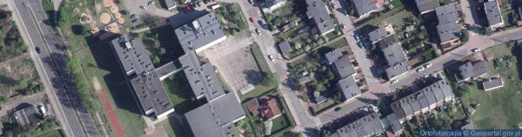 Zdjęcie satelitarne Rzepakowa ul.