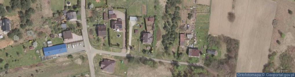 Zdjęcie satelitarne Sasanek ul.