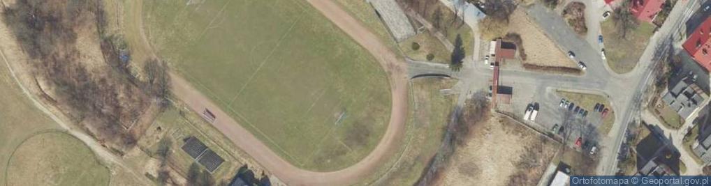 Zdjęcie satelitarne Sanocka ul.