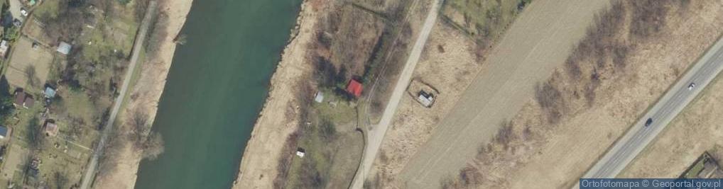 Zdjęcie satelitarne Sanowa ul.