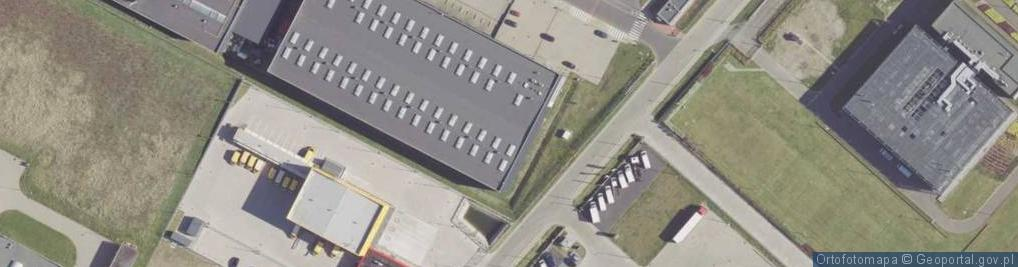 Zdjęcie satelitarne Samorządowa ul.