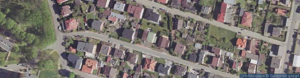 Zdjęcie satelitarne Sapowa ul.