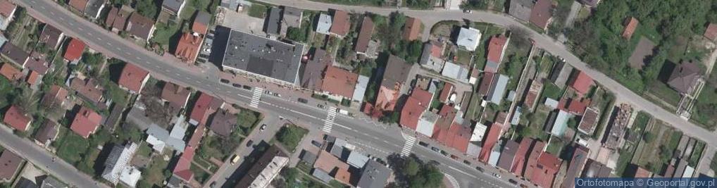 Zdjęcie satelitarne Sandomierska ul.