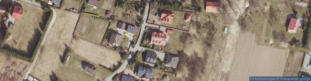 Zdjęcie satelitarne Saletyńska ul.