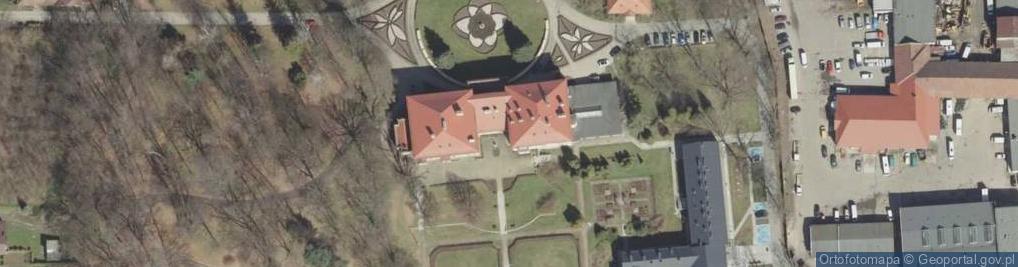 Zdjęcie satelitarne Sanguszków ul.