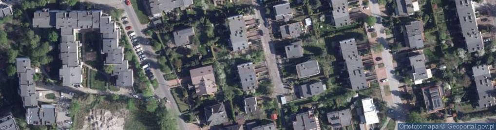Zdjęcie satelitarne Sasankowa ul.