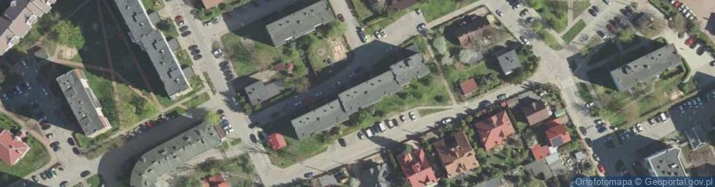Zdjęcie satelitarne Scaleniowa ul.