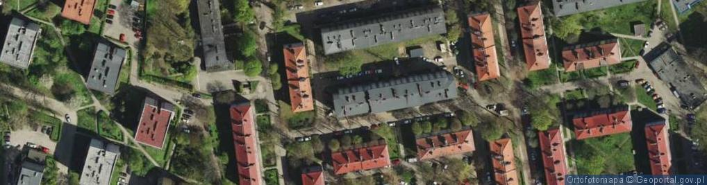 Zdjęcie satelitarne Schenka Wacława, ks. ul.
