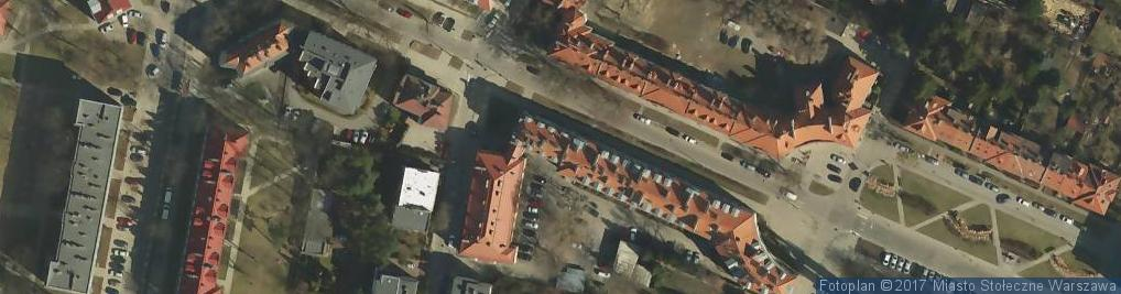 Zdjęcie satelitarne Schroegera Efraima ul.