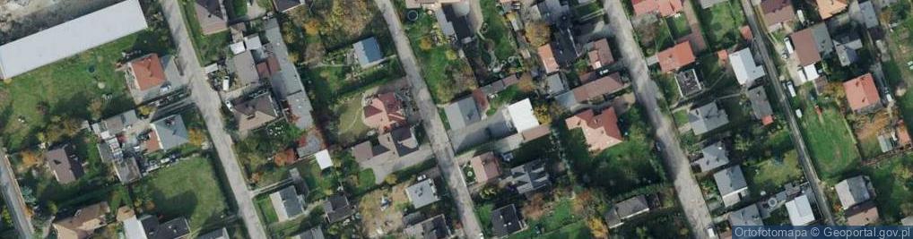 Zdjęcie satelitarne Sępowa ul.