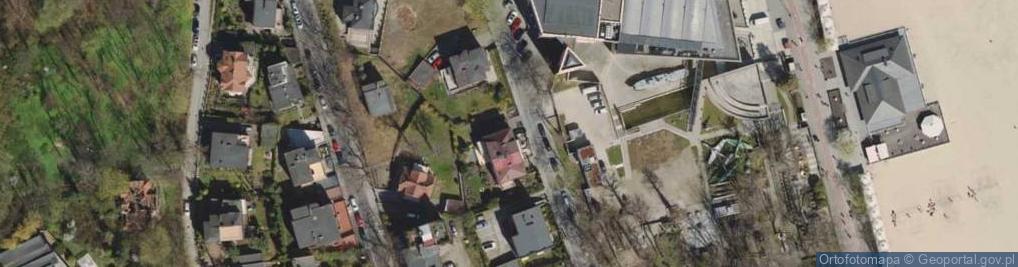 Zdjęcie satelitarne Sędzickiego Franciszka ul.