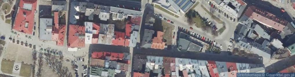 Zdjęcie satelitarne Serbańska ul.