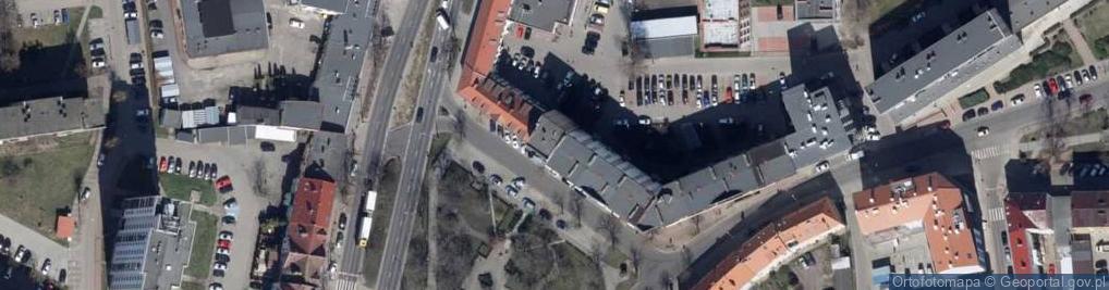 Zdjęcie satelitarne Seelowska ul.