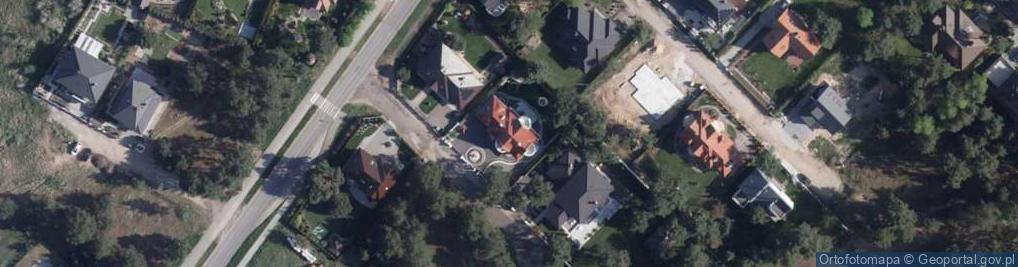 Zdjęcie satelitarne Sezamkowa ul.