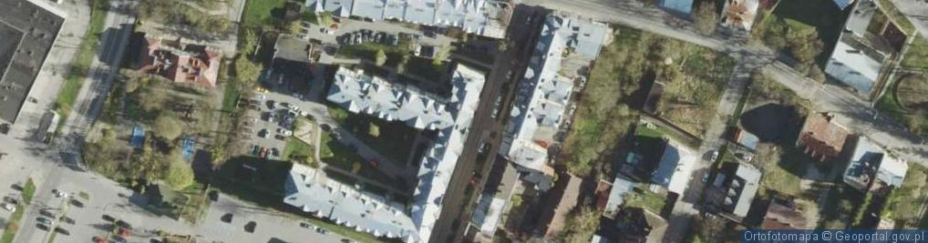 Zdjęcie satelitarne Siedlecka ul.