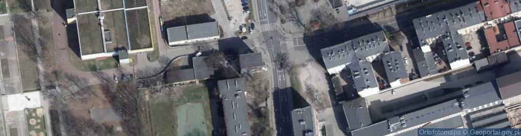 Zdjęcie satelitarne Sienkiewicza Henryka ul.