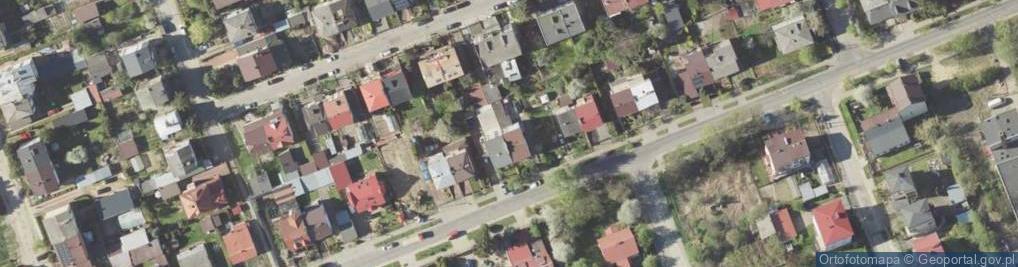 Zdjęcie satelitarne Sierpińskiego Seweryna ul.