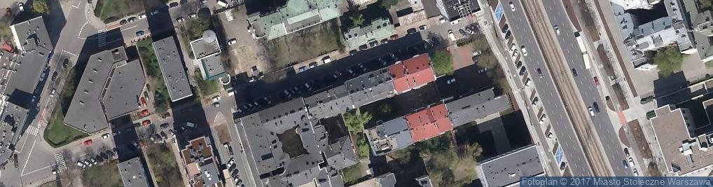 Zdjęcie satelitarne Sienna ul.