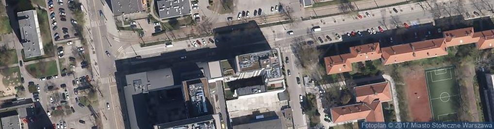 Zdjęcie satelitarne Siedmiogrodzka ul.