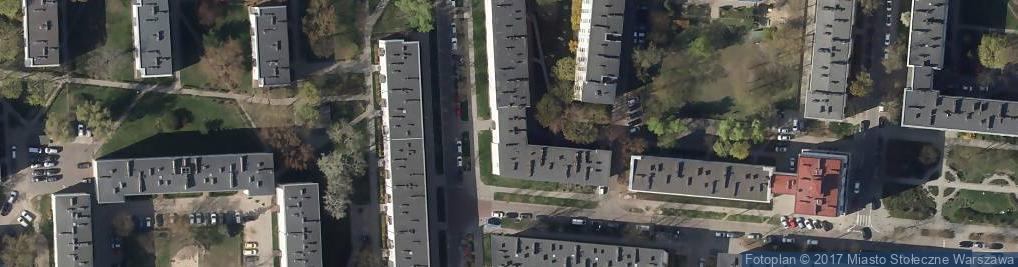 Zdjęcie satelitarne Siennicka ul.