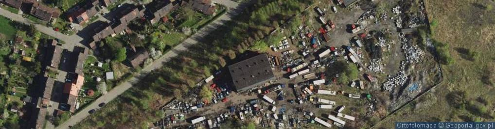 Zdjęcie satelitarne Sierakowskiego Józefa ul.