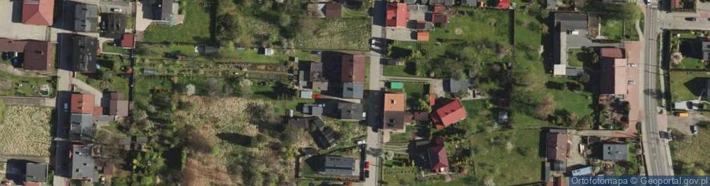 Zdjęcie satelitarne Sikory Jana ul.